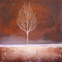 Πίνακες ζωγραφικής Χειμωνιάτικα δέντρα