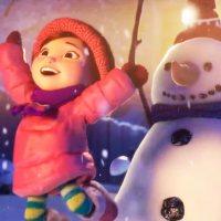 Το κορίτσι και ο χιονάνθρωπος
